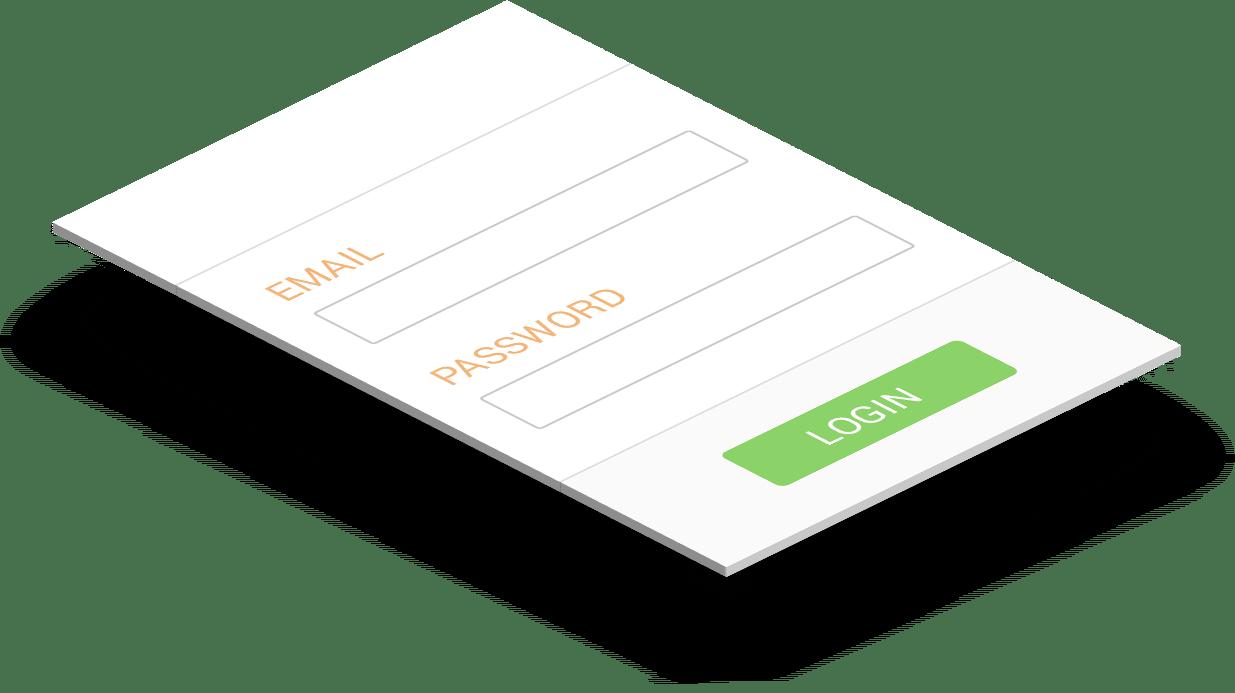 Responsive WP registration form
