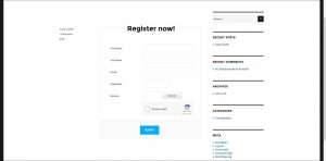 Customized Form WordPress Registration Plugin
