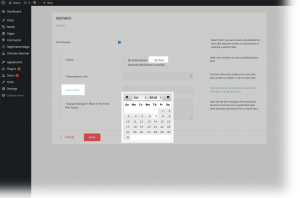 Registration Form Limit By Date