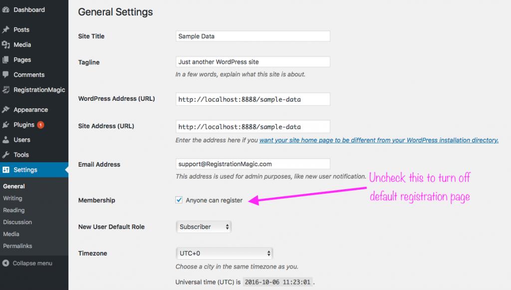 Custom user registration form - 11