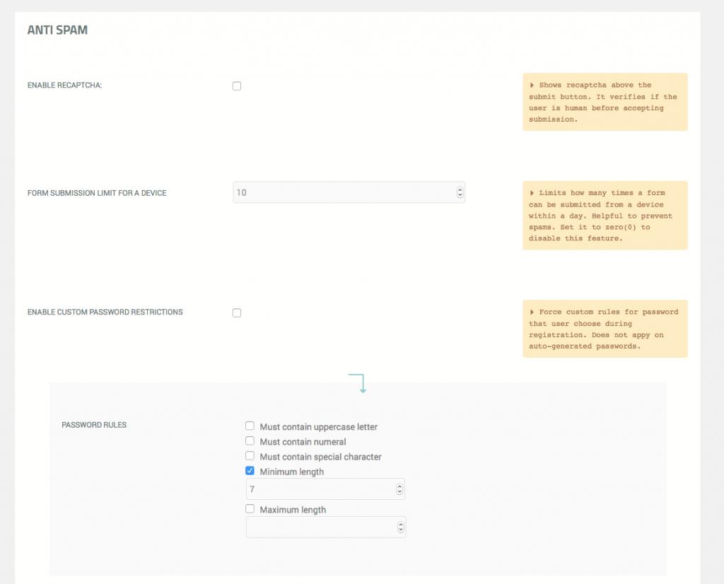 User registration multiple times - 5