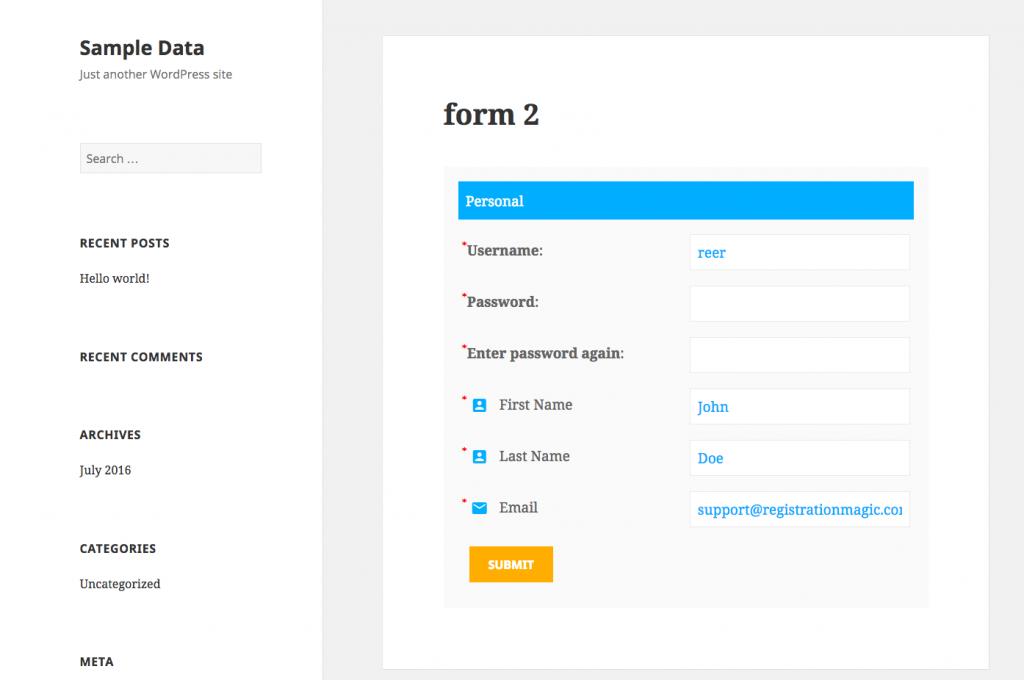 User registration multiple times - 6