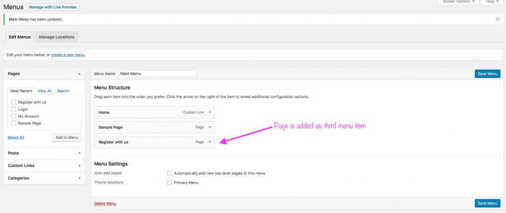 Custom user registration form - 8