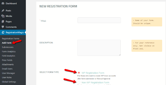 how to create multi-page form wordpress