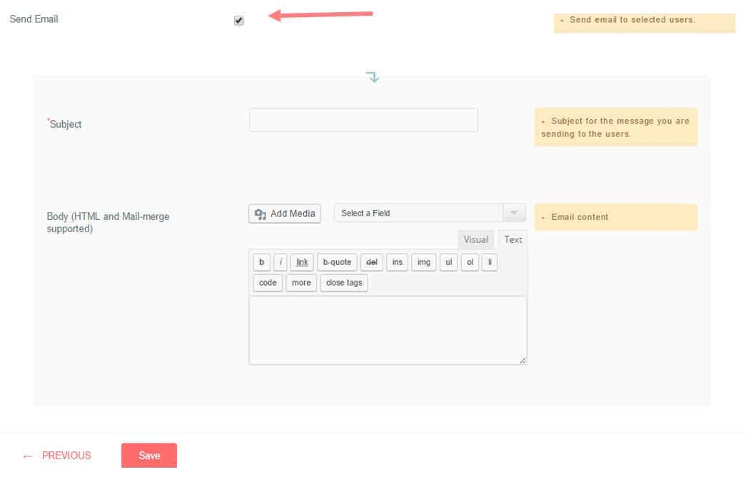 automate wordpress registration form 7