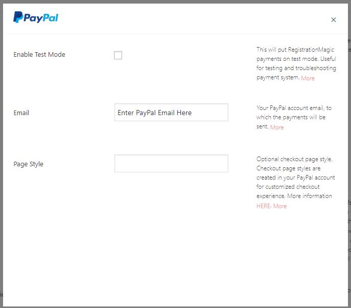 Configure Payment Processor
