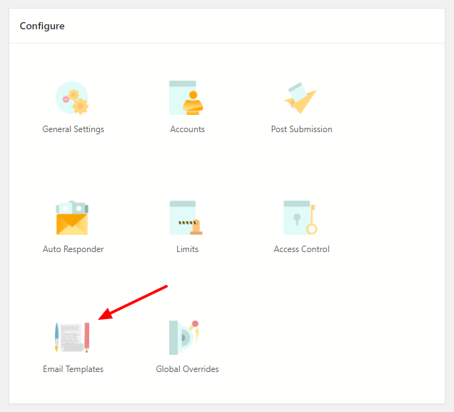 Smart Contact Form Configure Settings Email Templates