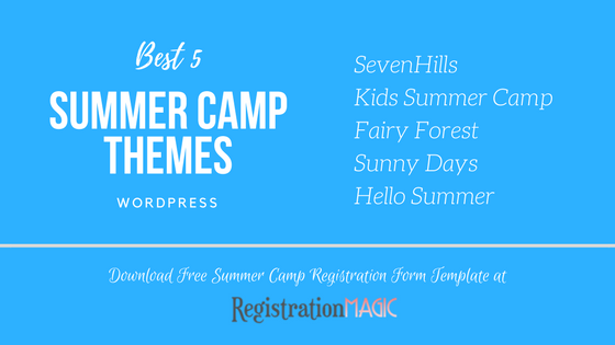 Summer Camp Themes WordPress