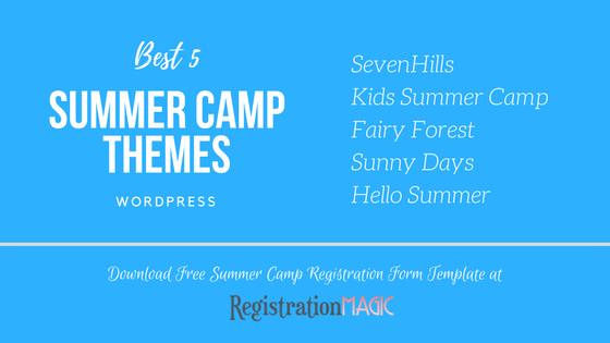 Summer Camp Themes WordPress