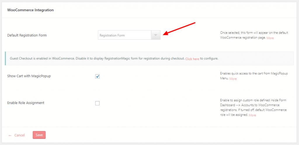 WordPress New User Registration User Register WooCommerce Integrate