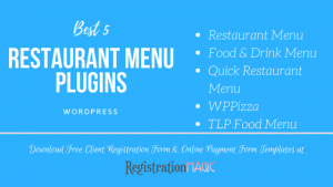 Restaurant Menu plugins in WordPress