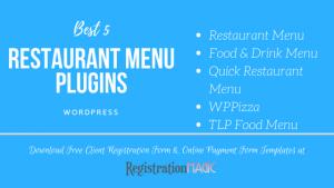 Restaurant Menu plugins in WordPress