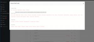 drop down field to WordPress form fields