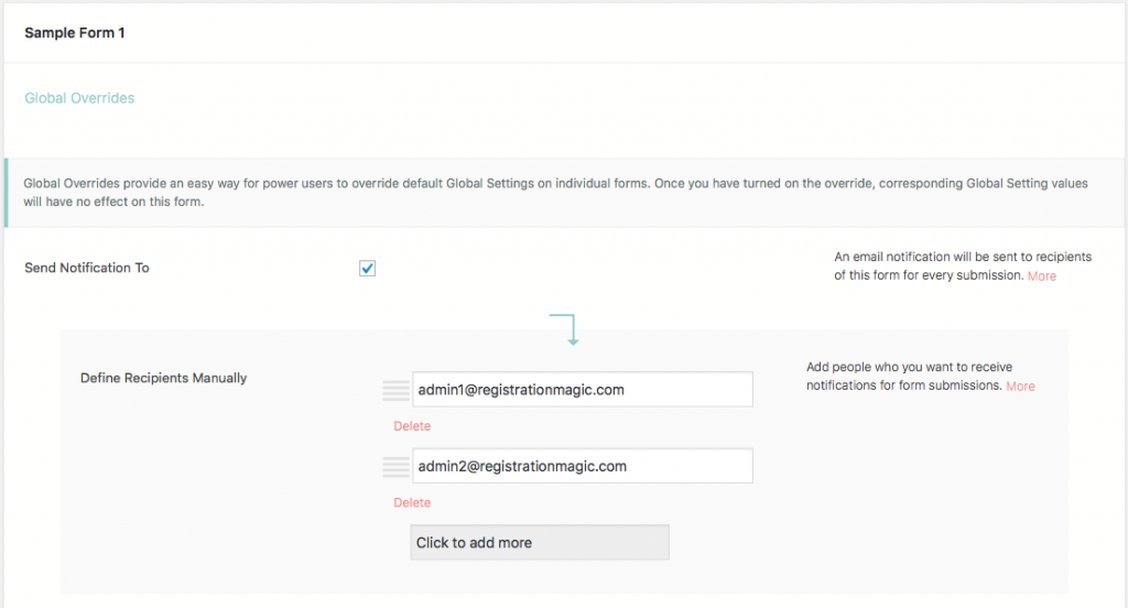 WordPress User Registration Status Admin