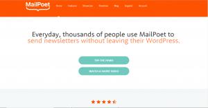Must have plugins for WordPress sites MailPoet
