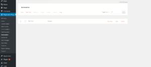 WordPress form field values run task