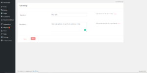Automation Based On WordPress Form Submission Time description