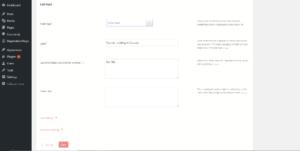 Add conditions to fields in WordPress dropdown fields
