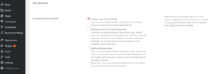 Find Pending Unconfirmed Users result