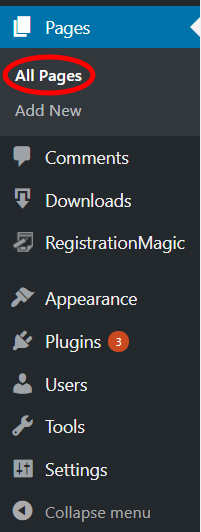 Allow Users to Register And Log in with Email new page