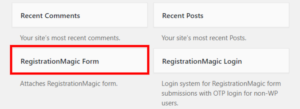 Publish Registration Forms and Display Registered Users form widget