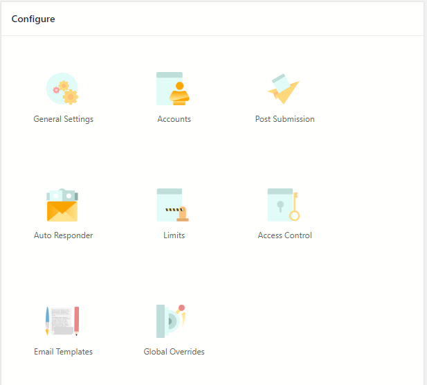 WordPress Class Registration Plugin configure settings
