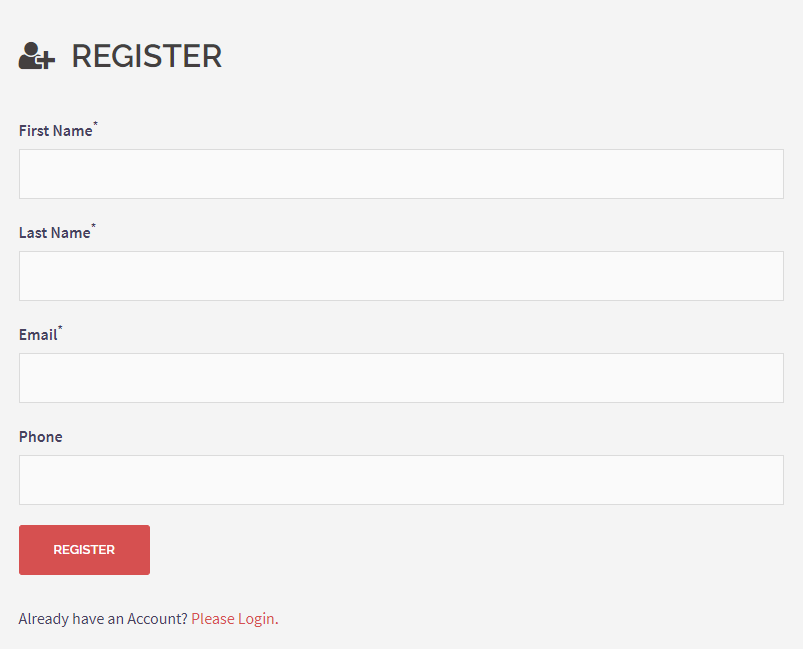 EventPrime Registration Form