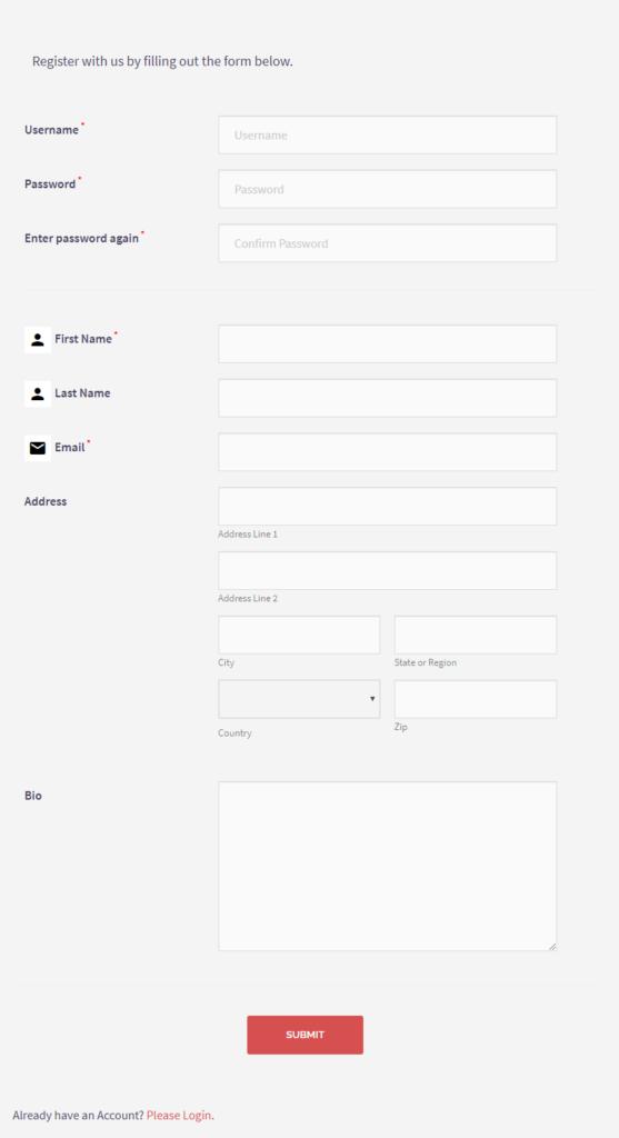 RegistrationMagic Registration Event Forms