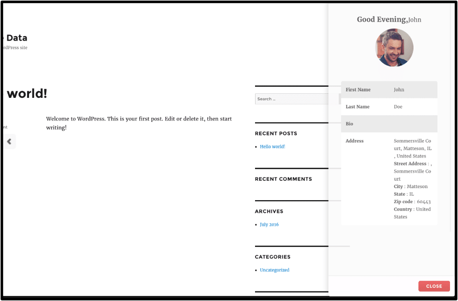 contact form plugin- Magic Popup