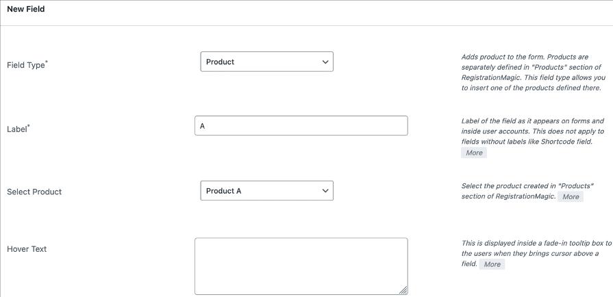 order form WordPress